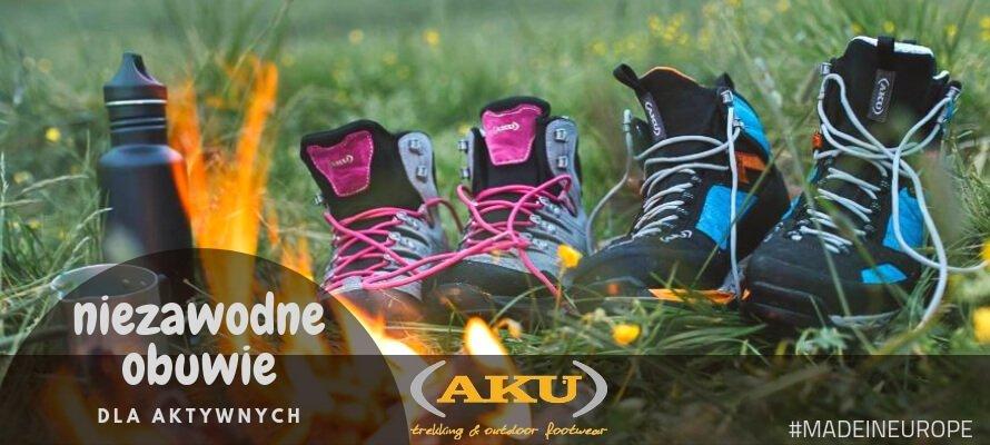 Niezawodne w każdych warunkach - obuwie marki AKU