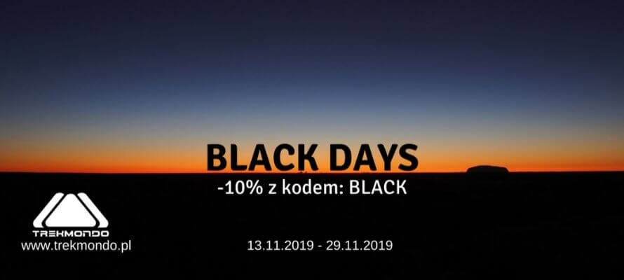 BLACK DAYS s klepie Trekmondo