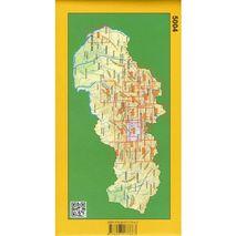 Mapa Nízke Tatry - východ 1:50 000 Tatra Plan
