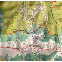 Mapa Nizke Tatry Chopok - Dumber - Certovica 1:25 000 Tatra Plan