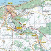 Mapa Wybrzeże Bałtyku Ustka-Darłowo 1:50 000 Rokart