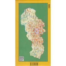 Mapa Niżne Tatry Zachód 1:50 000 (Nízke Tatry - západ 1:50 000) Tatra Plan