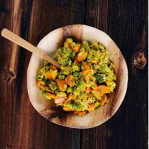 Lyo Food - żywność liofilizowana - Zielone curry z pokrzywą i ryżem by Sean Villanueva o'Driscoll 500g