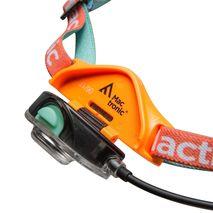 Mactronic - Latarka czołowa FREEQ orange 140lm ładowalna