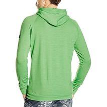 super.natural - bluza męska FZ Beach Hoodie 220 - poison green
