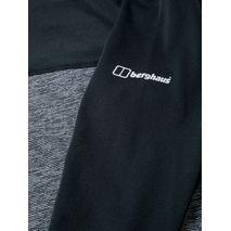 Berghaus - Koszulka damska VOYAGER TECH TEE LS GALAXY carbon marl/jet black