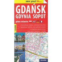 ExpressMap - Mapa Gdańsk Gdynia Sopot 2017