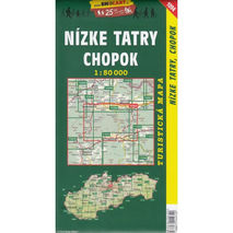 Shocart - Mapa Nizne Tatry Chopok 1:50 000
