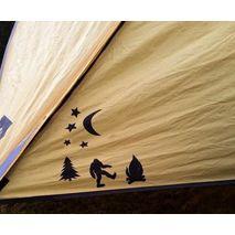 Gear Aid - Łaty naprawcze Tattoos Camping TENACIOUS TAPE