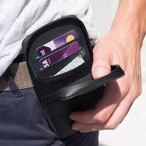 Lifeventure - pokrowiec/portfel na telefon -  RFiD Phone Wallet  grey