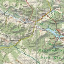 ExpressMap - Mapa Roztocze Środkowe Puszcza Solska Laminowana