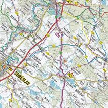 SHC - Mapa Greenway Praha-Wien 1:110 000