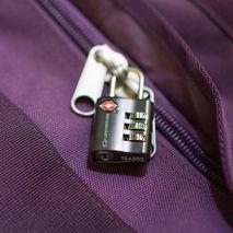 Lifeventure - Kłódka z szyfrem do bagażu - TSA Combi Lock, black