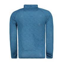 Northfinder - Koszulka męska Loggy blue melange