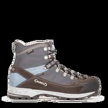 AKU - Buty trekkingowe damskie W's TREKKER PRO GTX grey / light blue