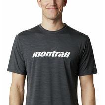 Columbia - Koszulka biegowa męska Trinity Trail Graphic Tee Black