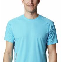 Columbia - Koszulka chłodząca męska Titan Ultra II Short Sleeve Riptide