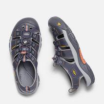 Keen - Sandały męskie Newport H2  india ink / rust