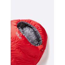 RAB - Śpiwór puchowy Alpine Pro 600 fiery red