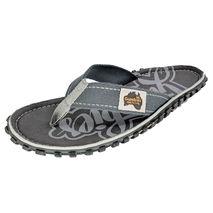 Gumbies - Klapki Unisex Islander Canvas Flip-Flops cool grey