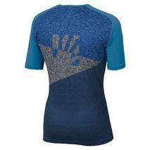 Karpos - T-shirt męski Croda Rossa Jersey Insignia Blue / Dresden Blue