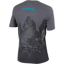 Karpos - T-shirt męski Profili Jersey Lead Grey / Bluette