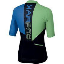 Karpos -  Koszulka MTB męska  Verve Jersey bluette / black / green fluo