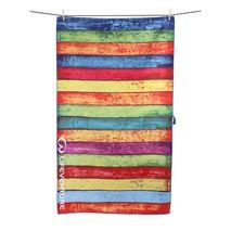 Lifeventure - Ręcznik turystyczny Striped Planks Printed SoftFibre Trek Towel