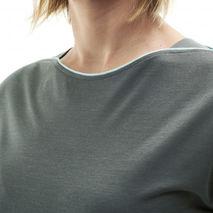 Millet - Koszulka damska CLOUD PEAK WOOL TS SS W castle gray