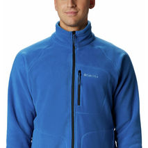 Columbia - Bluza polarowa męska Fast Trek™ II Full Zip Fleece - Bright Indigo