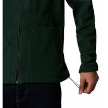 Columbia - Bluza polarowa męska Fast Trek™ II Full Zip Fleece - Spruce