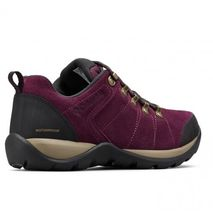 Columbia - Buty damskie Fire Venture S II Waterproof black cherry