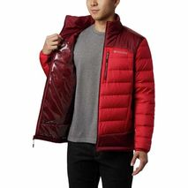 Columbia - Kurtka męska puchowa Autumn Park Down Jacket Mountain Red