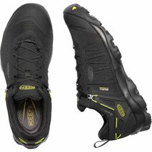Keen - Buty męskie Venture WP black / keen yellow