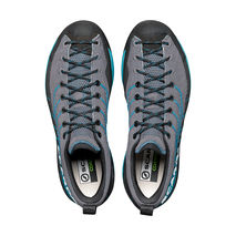 Scarpa - Buty podejściowe męskie Mescalito Knit gray-lake blue