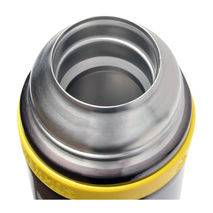 Thermos Mountain - termos z kubkiem do warunków ekstremalnych stalowo-limonkowy 500 ml