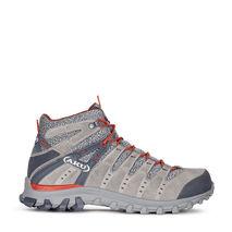 AKU - Buty trekkingowe męskie M's ALTERRA LITE MID GTX grey / red