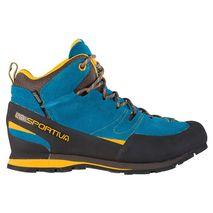La Sportiva - Buty Boulder X Mid GTX blue /yellow