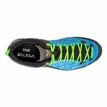Salewa - Buty męskie MTN TRAINER 2 GTX blue danube / fluo green
