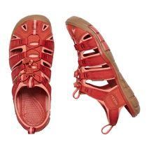 Keen - Sandały damskie Clearwater CNX dark red / coral