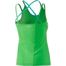 super.natural - Koszulka damska Strappy Back tank 175 poison green