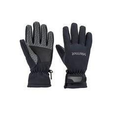 Marmot - Rękawiczki damskie Wm's Glide Softshell Glove, black