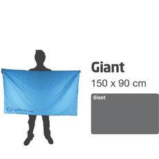 Ręcznik - Soft Fibre Lite Giant szary Lifeventure