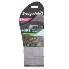 Bridgedale - Skarpety damskie Hike midweight silver grey
