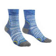Bridgedale - Skarpety damskie z amortyzacją Hike ultralight T2 pattern blue