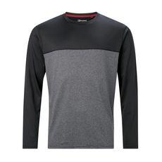 Berghaus - Koszulka męska VOYAGER TECH TEE LS jet black / white