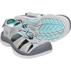 Keen - sandały damskie  VENICE II H2 paloma/ pastel turquoise