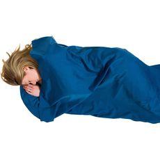Lifeventure - Wkładka do śpiwora Polycotton Sleeping Bag Liner, kształt mumia Lifeventure, navy