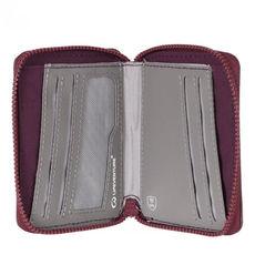 Lifeventure - Portfel Bi-Fold Wallet RFID aubergine