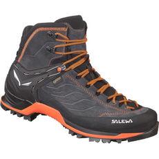 Salewa - Buty męskie MTN TRAINER MID GTX asphalt / fluo orange